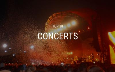 Top 10 Concerts