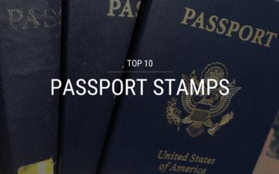 Top 10 Passport Stamps