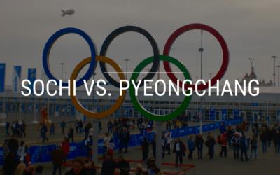 Sochi Vs. PyeongChang